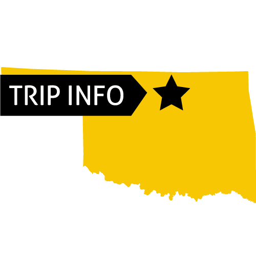 Trip information for Bartlesville, Oklahoma