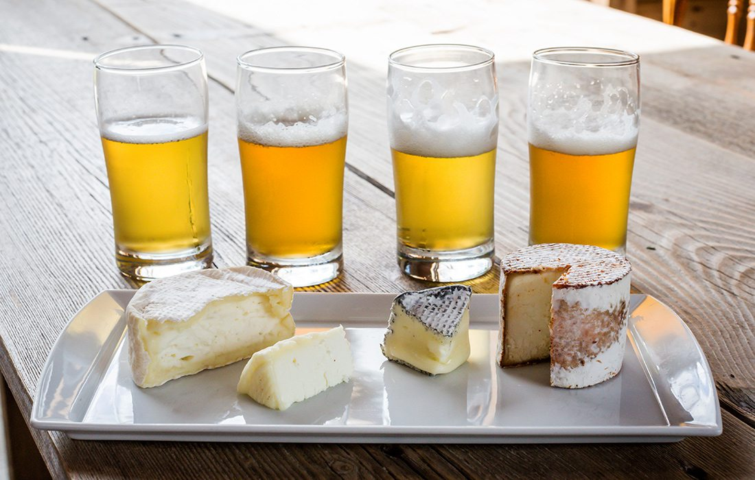 Green Dirt Farm, beer and cheese pairing