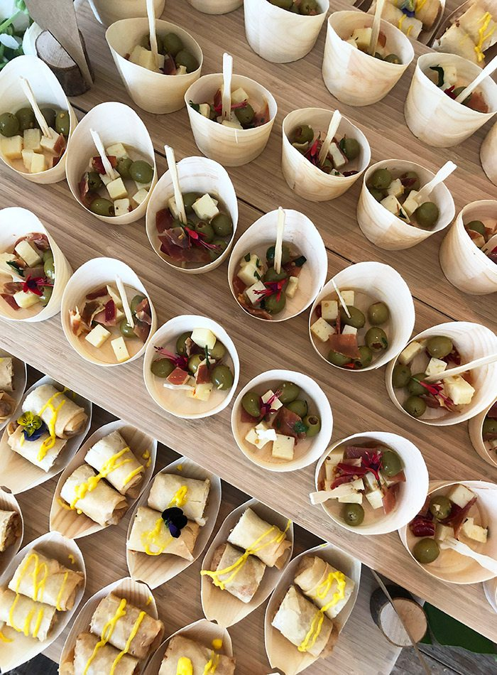 Appetizers by Pino + Tink's catering in Springfield MO