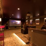 Slider Thumbnail: Home theater modeled after The Fabulous Fox Theatre in St. Louis.
