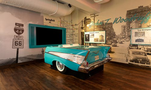 Route 66 Exhibit at Springfield History Museum