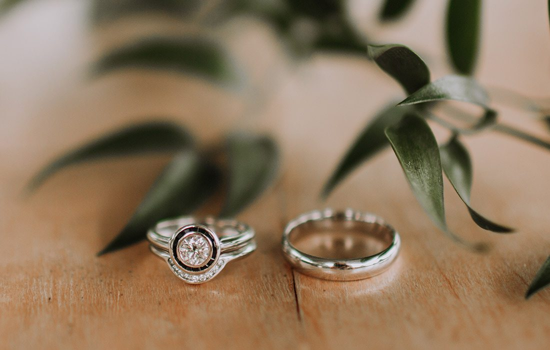 Ryan Kopas & Shai Voelker's wedding rings