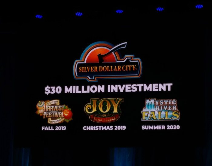 Silver Dollar City announcements for 2019 and 2020