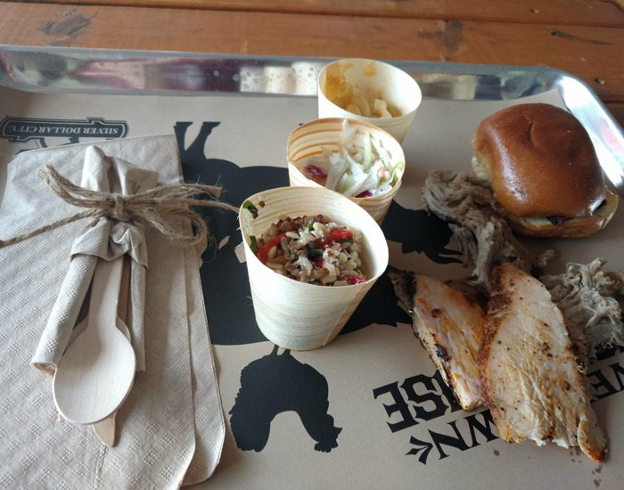 BBQ from Rivertown Smokehouse