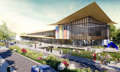 Rendering of new SGF Art Museum