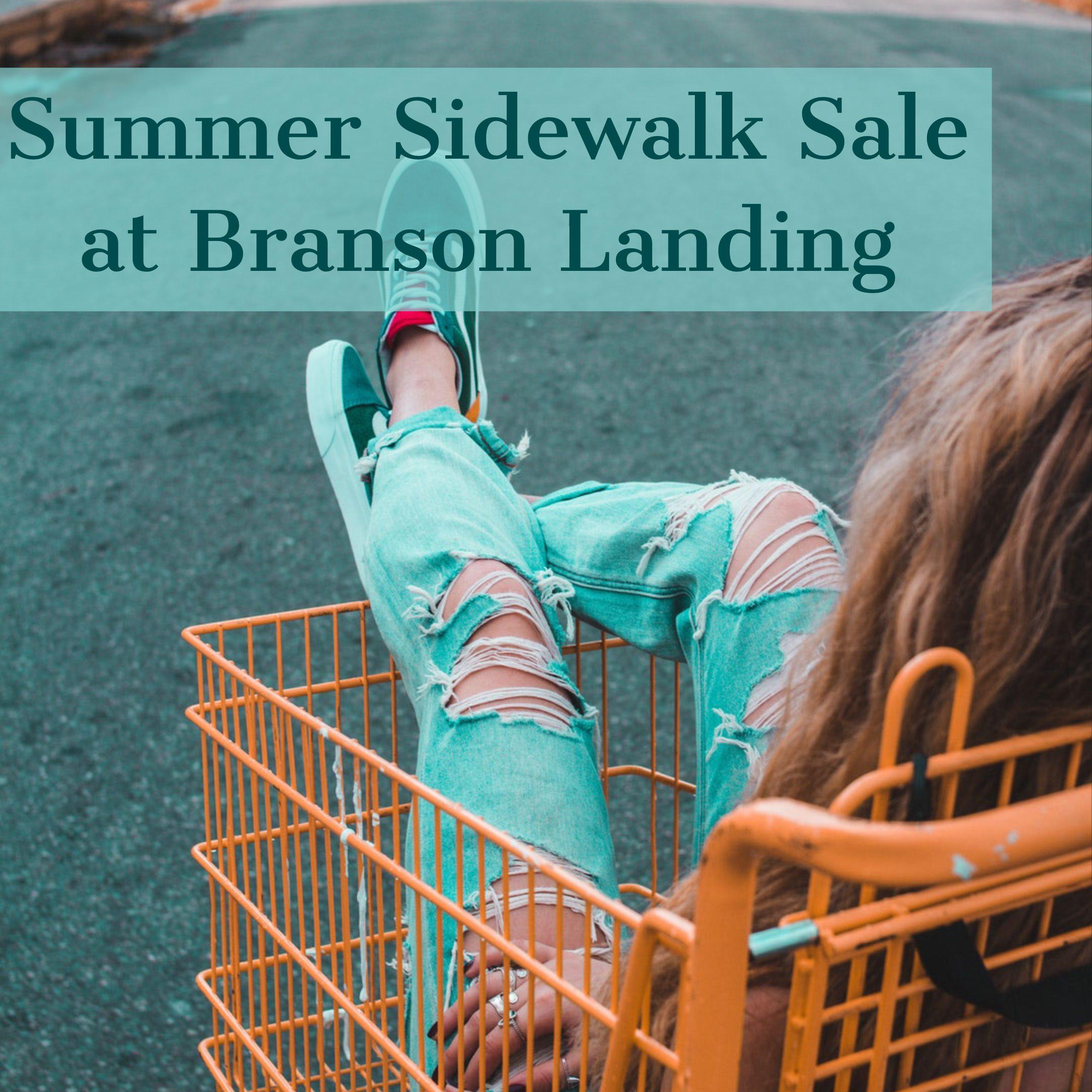 SIDEWALK SALE AT BRANSON LANDING