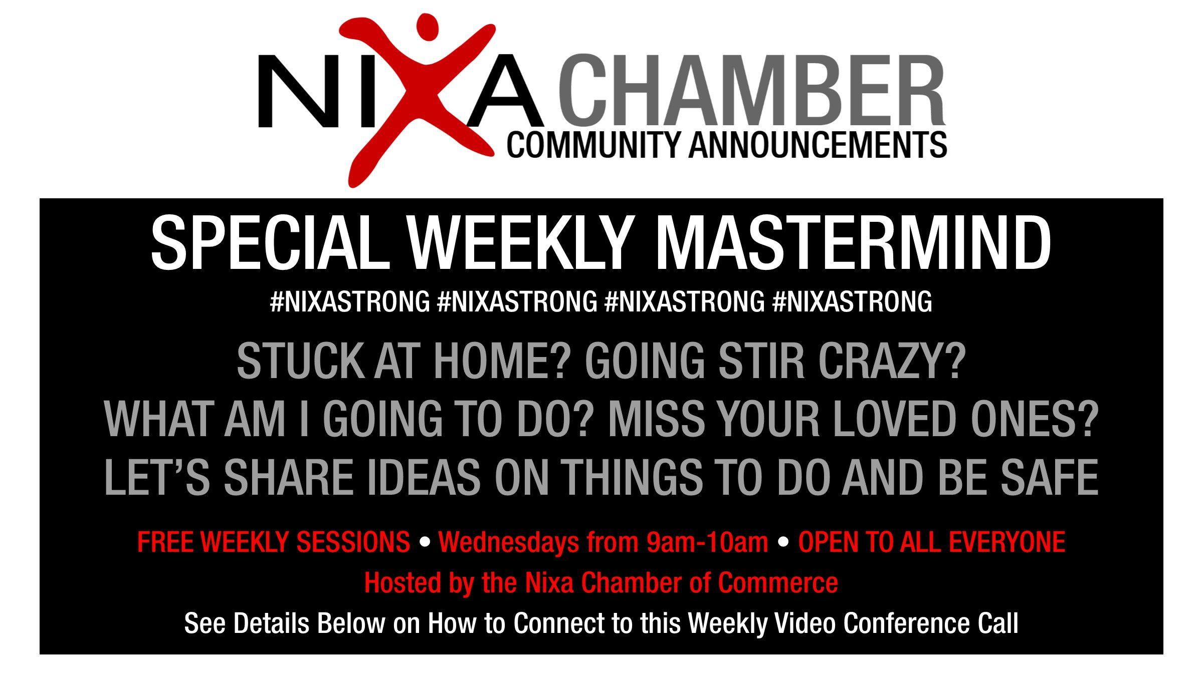 Special Weekly Mastermind