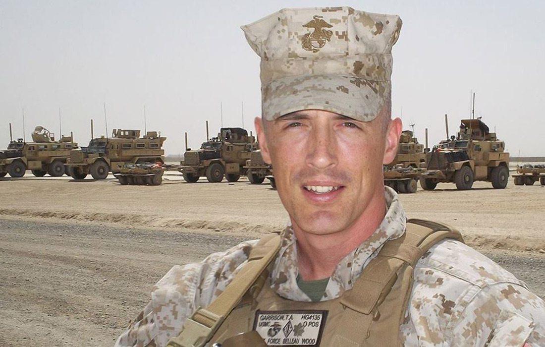 Tim Garrison, Marine Corps in Afghanistan