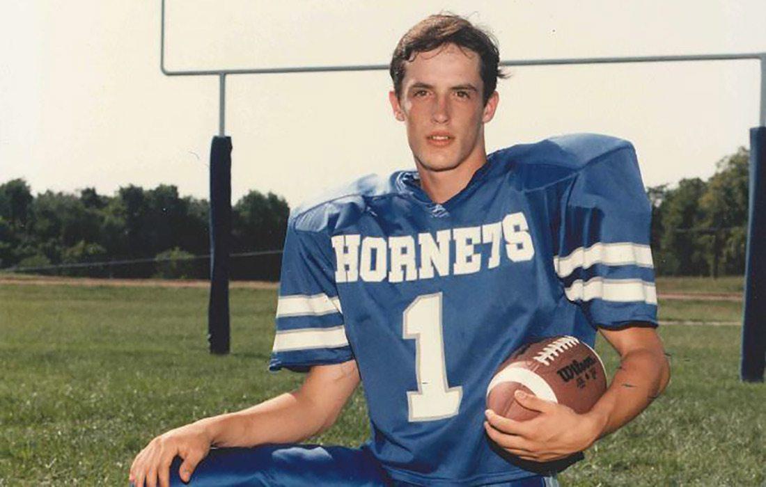 Tim Garrison, Hillcrest Hornet Football Player
