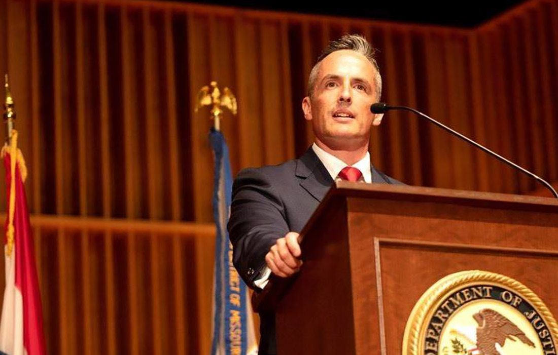 Tim Garrison US Attorney for the Western District of Missouri