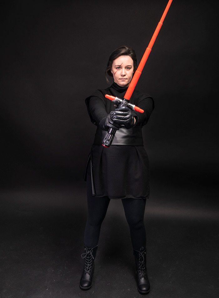 Sarah Patton as Kylo Ren 2019