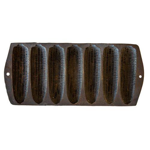 Cast iron vintage cornbread mold at Wood & Twig