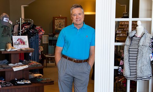 Larry Leek, CEO of Christian Associates at Wood & Twig at Battlefield Mall