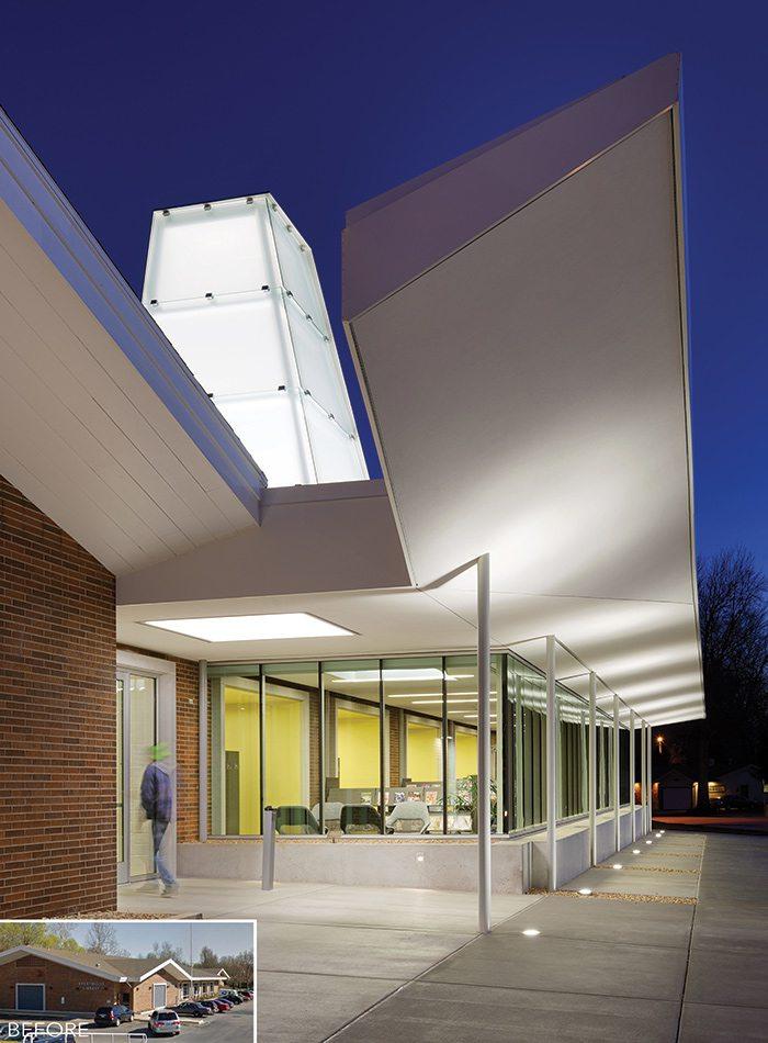Schweitzer-Brentwood Branch Library Exterior