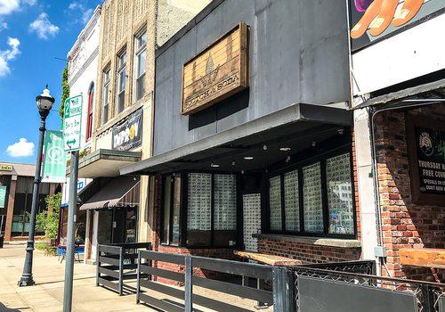 Scotch & Soda building in downtown Springfield, MO
