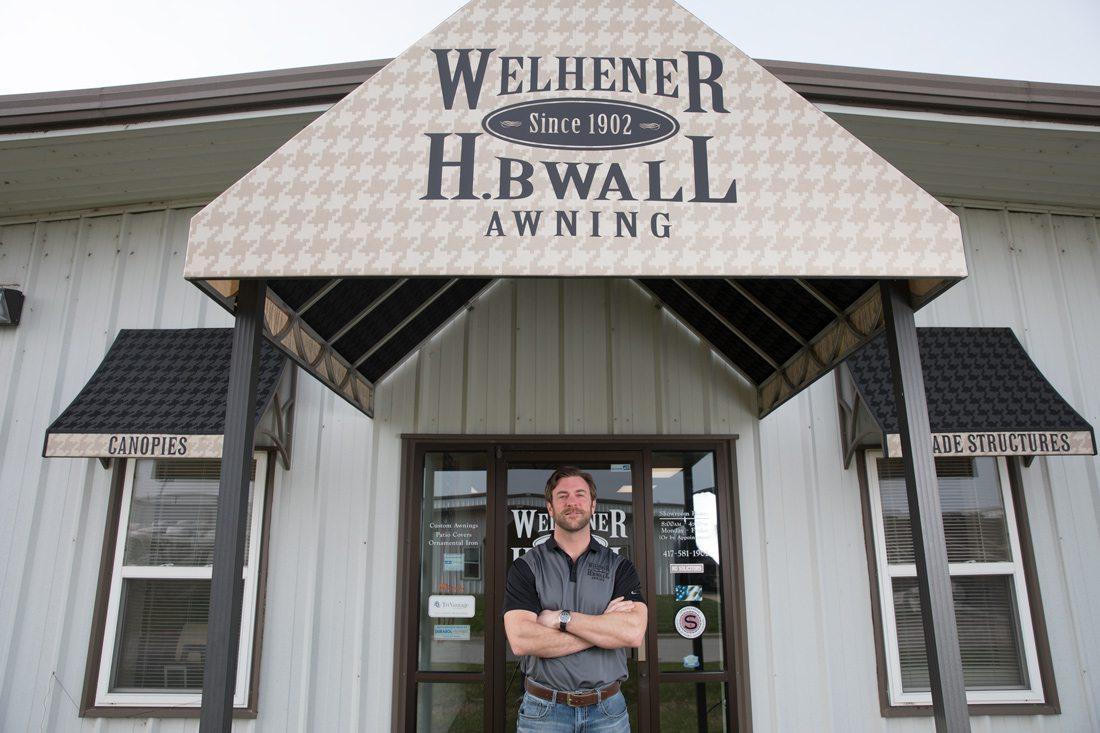 Welhener - H.B. Wall Awning President Scott Neville