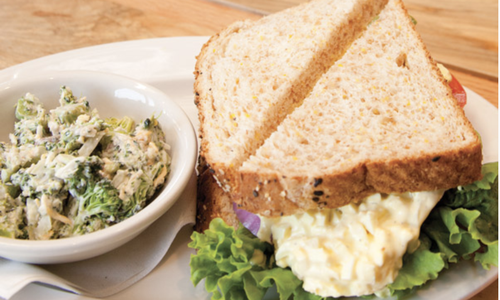 Egg Salad Sandwich at The Brown Egg