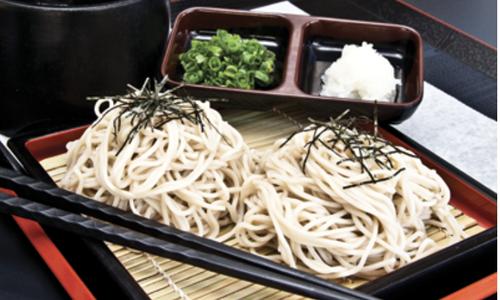 Zaru Soba at Bibiya Fresh Kitchen