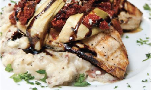 Chicken Gratella at Jimm's Steakhouse & Pub