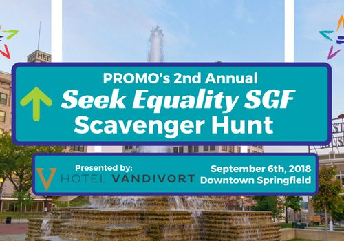 Seek Equality SGF Scavenger Hunt Presented by Hotel Vandivort