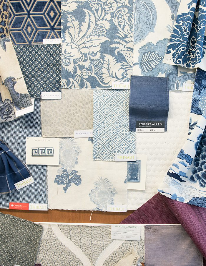 Bridge Upholstery and Drapery, Fabric Swatches