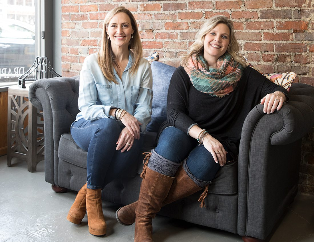 Bridge Upholstery and Drapery Owners, Manda Brandt and Robbyn Bybee