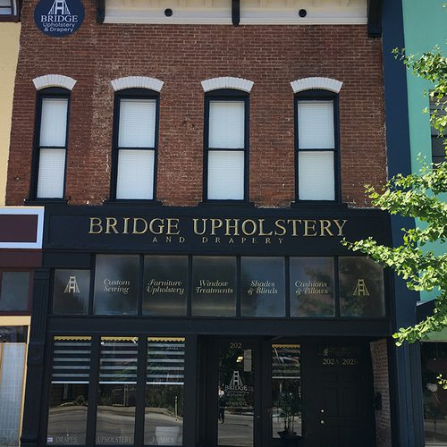 Bridge Upholstery and Drapery, Exterior
