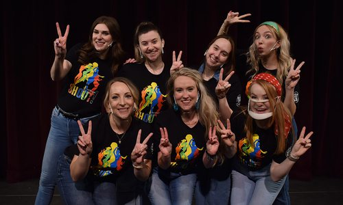 Shout! The Mod Musical cast photo