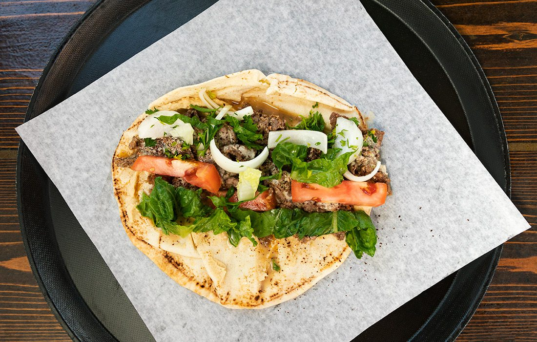 Beef Schwarma Wrap from That Lebanese Place