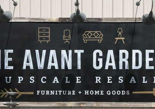 Sip 'N' Shop at The Avant Garde'n