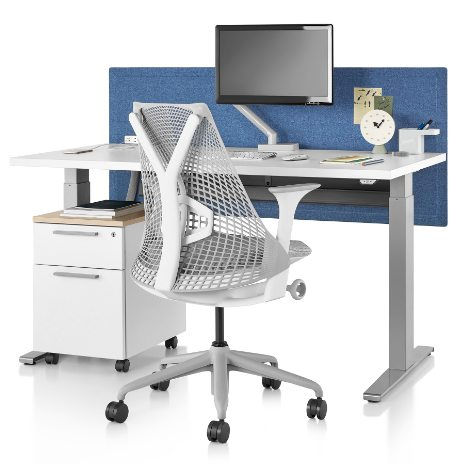 Grooms Office Environments offers standup desks by Herman Miller in the Springfield, MO area
