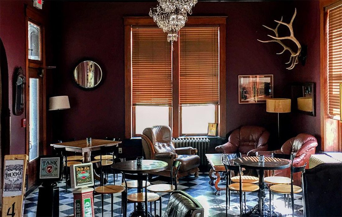 Serving beer and history on draft, Hotel Frederick's in Boonville, Missouri bar is an elegant little spot to catch your breath.