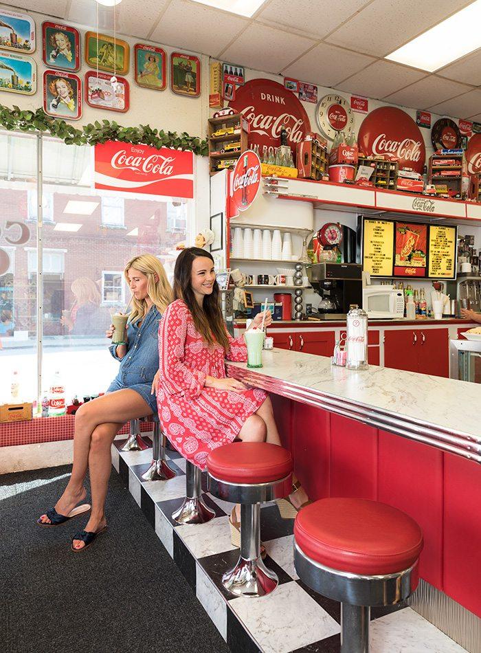 The Classey Corner Cafe in Crane, Missouri