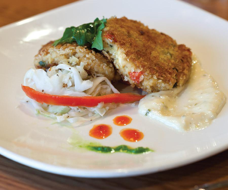 Smoked Catfish Cake from Dobyns Dining Room