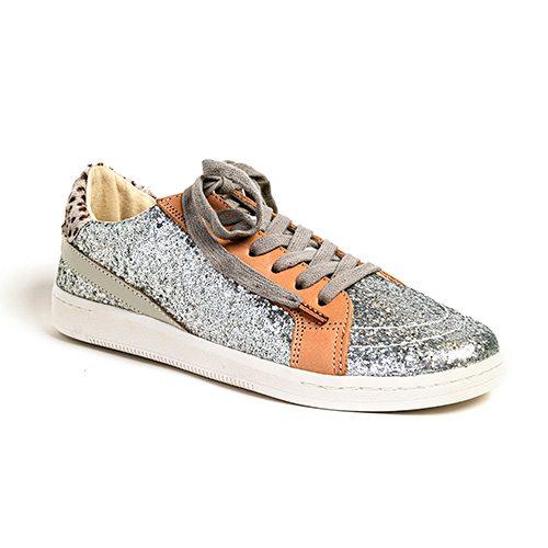 Dolce Vita silver sparkle sneaker, $102 at Harem & Co