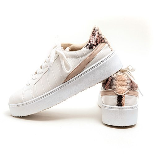 Qupid crocodile sneaker, $44 at Uptown Boutique