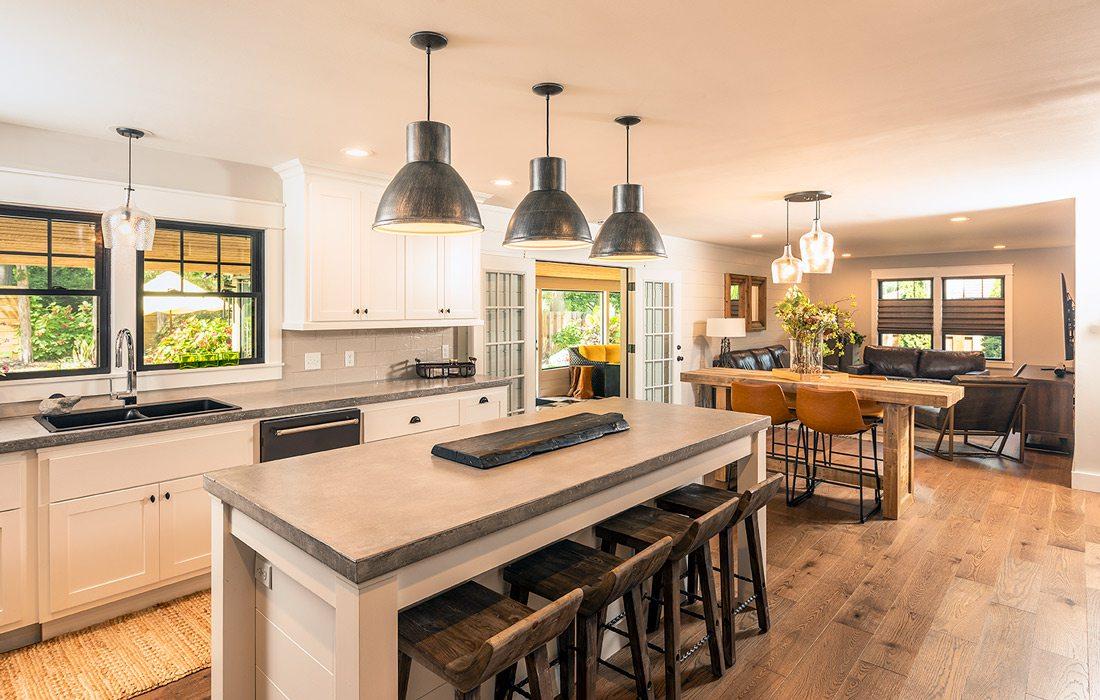 Heintz home kitchen photo