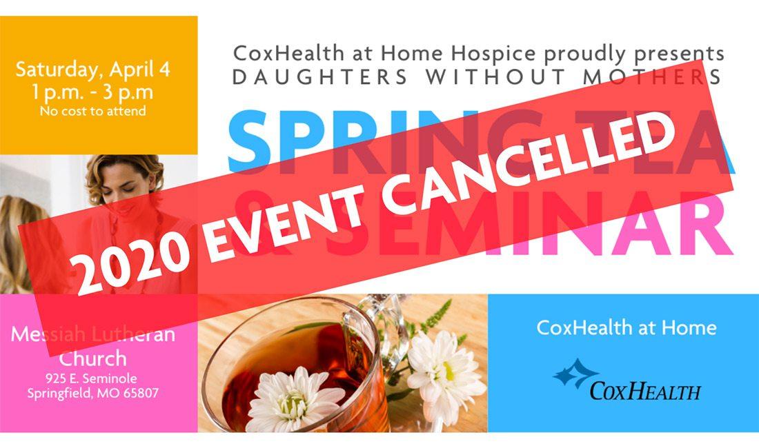 Spring Tea & Seminar promo