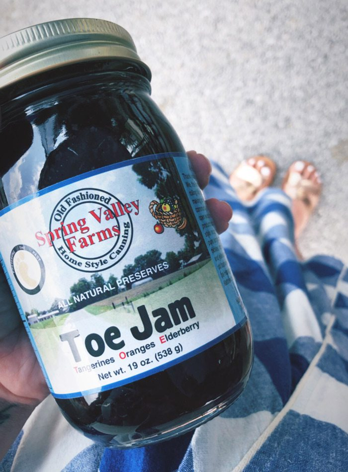 Toe Jam from Spring Valley Farms