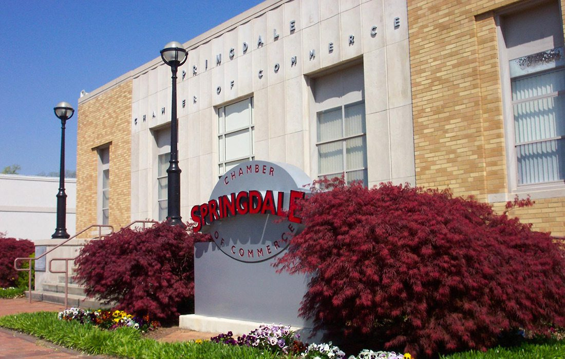 Springdale Chamber of Commerce, Springdale, AR