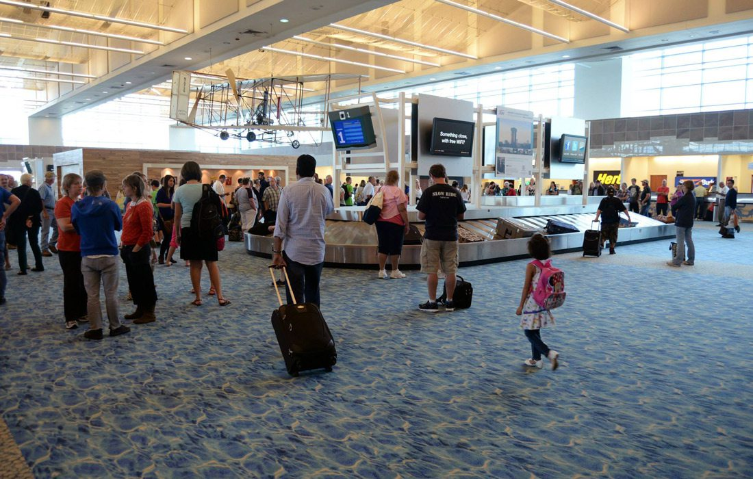 Interior photo of Springfield-Branson National Airport