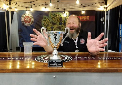 Springfield Brewing Company at the annual Ozarks Beerfest