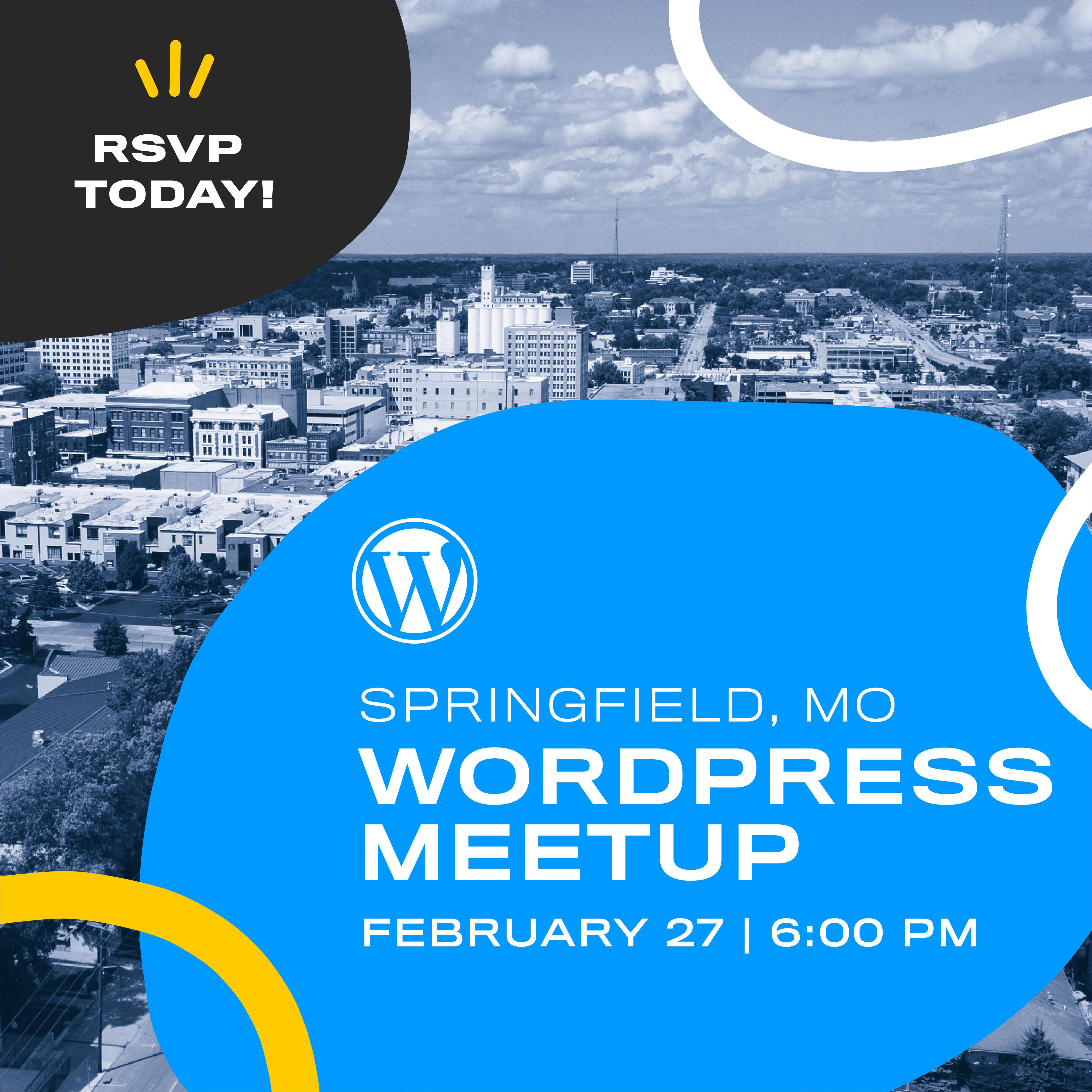 WordPress meeting in Springfield, MO
