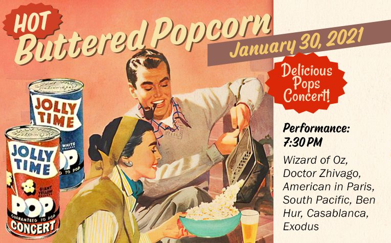 Springfield Symphony's Hot Buttered Popcorn Livestream Concert