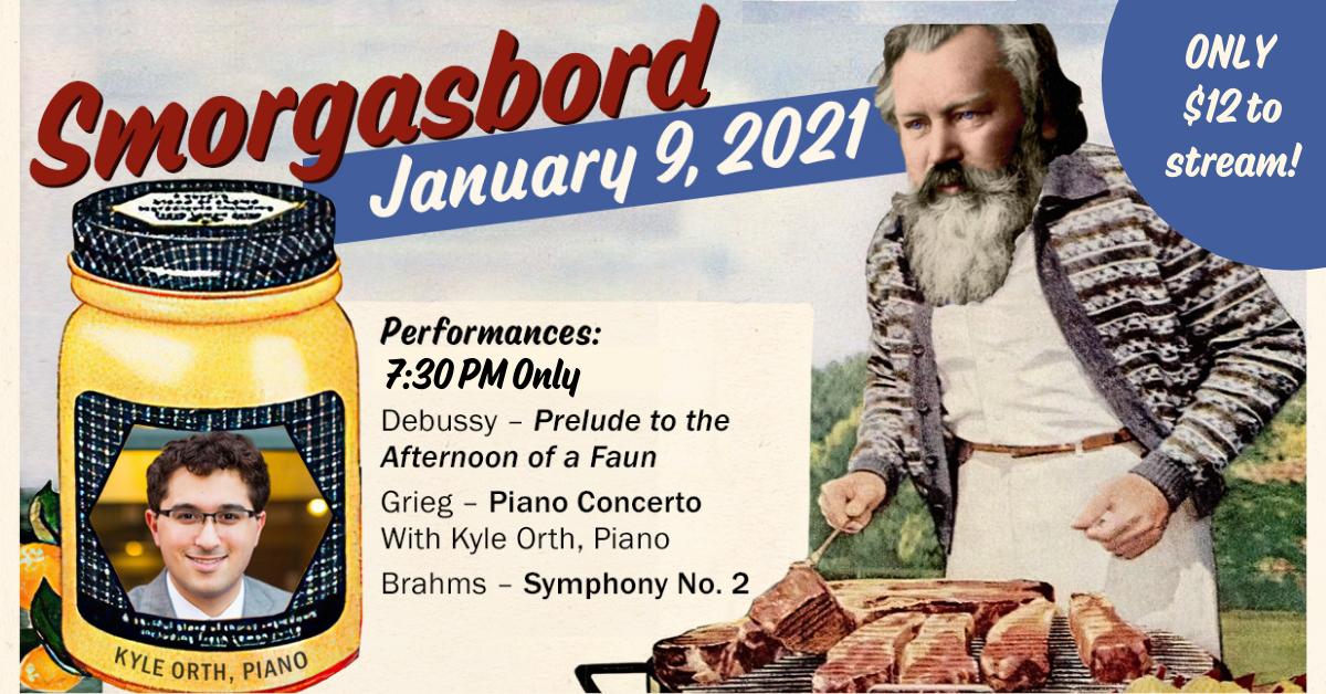 Springfield Symphony's Smorgasbord Livestream Concert