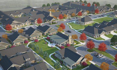 Foster Senior Living facility development plan in Springfield, MO