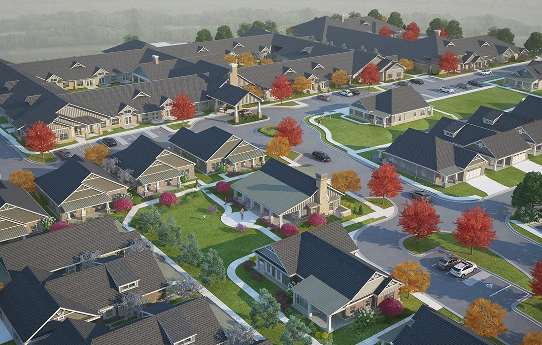Foster Senior Living facility development plan in Springfield, MO
