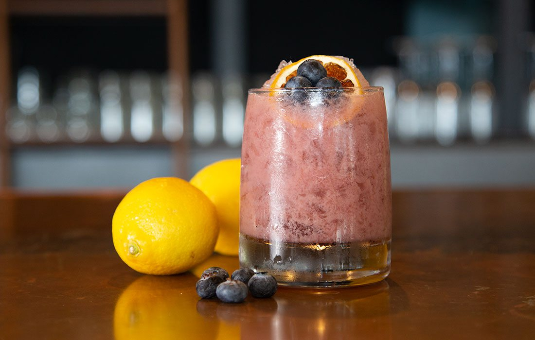 Saint Martin summer cocktail from The Order