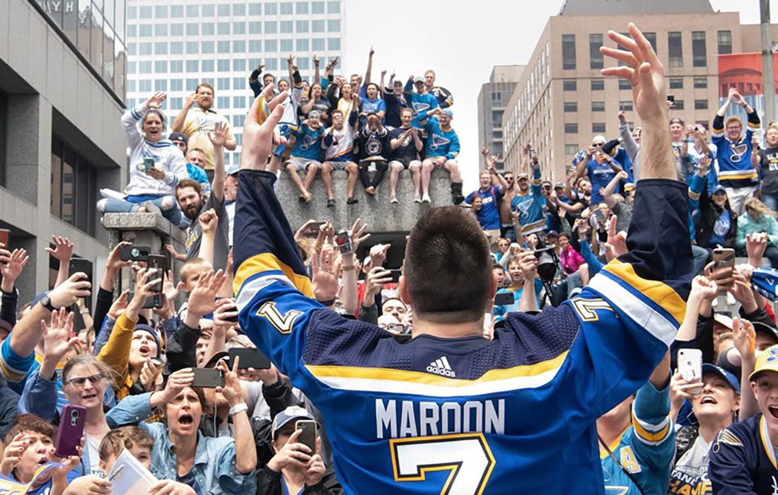 St. Louis Blues Stanley Cup victory parade