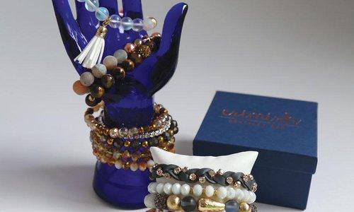 Erimish Bracelet Bar's Stacks of Style